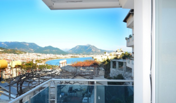 Unfurnished 4+1 Penthouse in Alanya