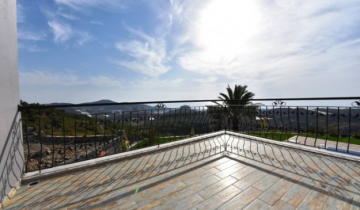 Luxury 4+1 Unfurnished Villa With Sea, Mountain and City View